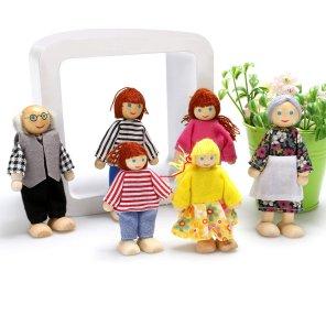 muñecos familia